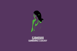 Gamora Simple Art