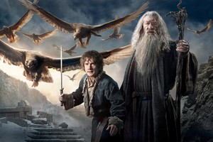 Gandalf Bilbo In Hobbit 3