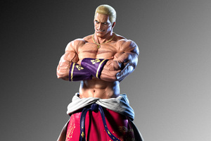 Geese Howard Tekken 7 5k Ultra Wallpaper