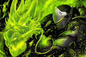 Genji Artwork Wallpaper