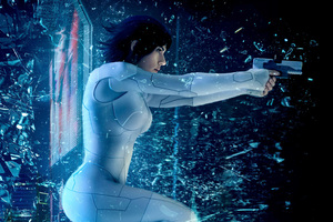 Ghost In The Shell 2017 Movie Wallpaper