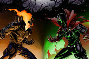 Ghost Rider Vs Spawn
