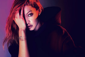 Gigi Hadid Messika 2017 Wallpaper