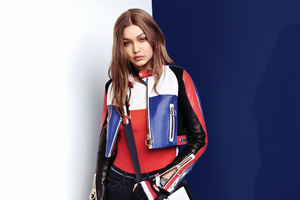 Gigi Hadid Tommy X Spring Summer 2018 Campaign Wallpaper