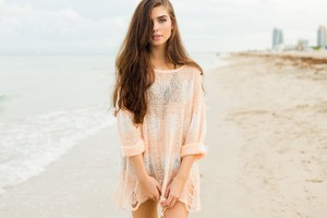Girl On Beach 2