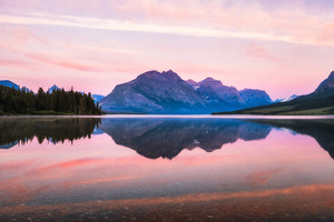 Glacier National Park Sunrise Wallpaper