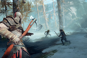 God Of War 2017 Hd Games 4k Wallpapers Images Backgrounds