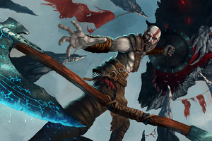God Of War 4 Artwork