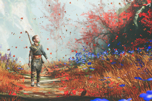 God Of War 4 Atreus