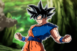 Goku Dragon Ball Super 5k 2018