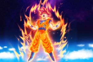 Goku Dragon Ball Super Anime HD Wallpaper
