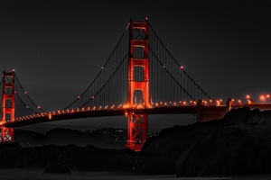 Golden Gate Bridge San Francisco Night Wallpaper