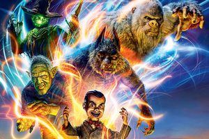 Goosebumps 2 Haunted Halloween 8k Poster Wallpaper