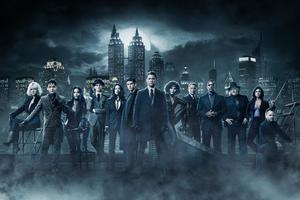 Gotham Season 4 Cast 5k Wallpaper