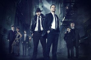 Gotham Tv Series Cast Wallpaper