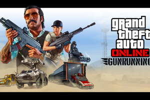 Grand Theft Auto Line Gunrunning Wallpaper