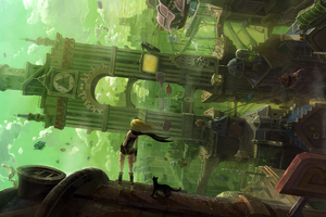 Gravity Rush 2 2017 Game 5k