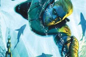 Green Arrow Underwater Artwork