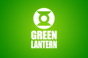 Green Lantern Logo 4k Wallpaper