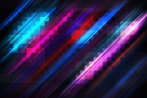 Grid Abstract Colorful 4k Wallpaper