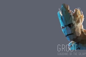 Groot Abstract Art