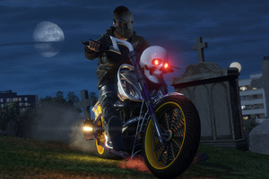 GTA 5 Online Halloween DLC Bike