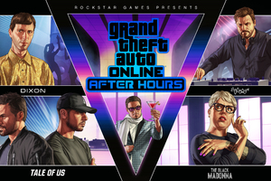 GTA Online After Hours Key Art 8k Wallpaper