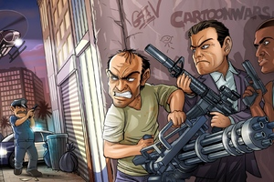 GTA V Game Art
