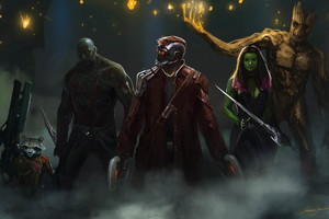 Guardians Of The Galaxy Artwork 4k