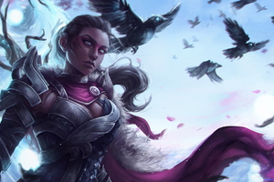 Guild Wars 2 Woman Warrior Wallpaper