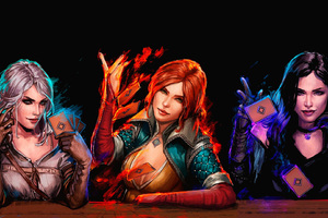 Gwent The Witcher Card Game Fan Art Wallpaper