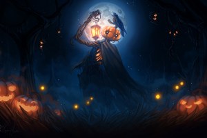 Halloween 2018 Digital Art 4k Wallpaper