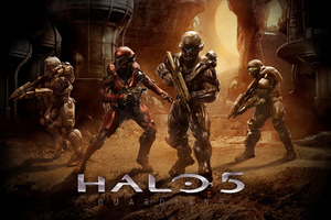 Halo 5 Guardians Team
