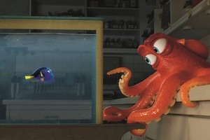 Hank Octopus In Finding Dory