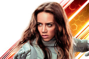 Hannah John Kamen As Ghost In Ant Man And The Wasp Movie 10k Wallpaper
