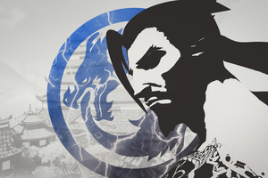Hanzo Overwatch Fan Art 4k Wallpaper