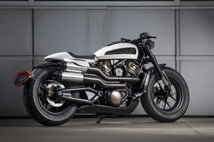 Harley Davidson Custom 1250 2020 Wallpaper