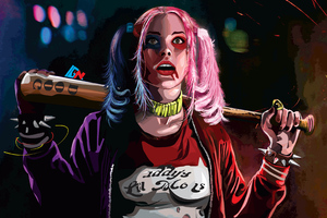 Harley Quinn 4k Artworks Wallpaper