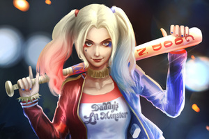 Harley Quinn Art HD