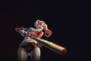 Harley Quinn Cute Artwork