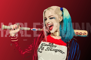 Harley Quinn Digital Art Hd