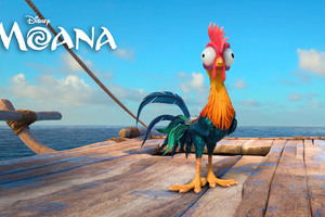 Heihei Moana 4k Wallpaper