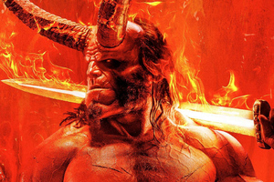 Hellboy Movie 2019 Poster Wallpaper