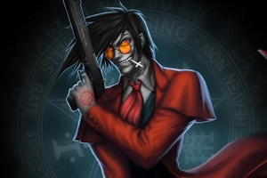 Hellsing Alicard Art