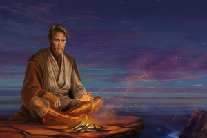 Hermit Obi Wan Kenobi 8K Artwork Wallpaper