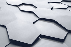 Hexagon Abstract 5k Wallpaper