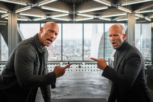 Hobbs And Shaw 4k