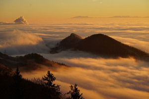 Homberg Clouds Sea Of Fog