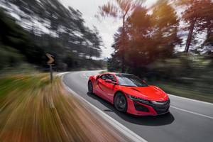 Honda NSX 2017 Wallpaper