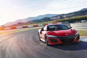 Honda NSX 4k Wallpaper